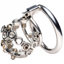 Master Series Chastity Device with Spikes  1