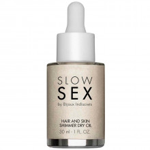 Slow Sex by Bijoux Hair and Skin Oil with Shimmer 30 ml  1