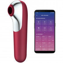 Satisfyer Dual Love Clitoral Stimulator Product picture with app 1