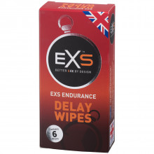 EXS Endurance Delay Wipes 6 pcs Packaging picture 1