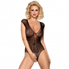Obsessive Black Lace Teddy