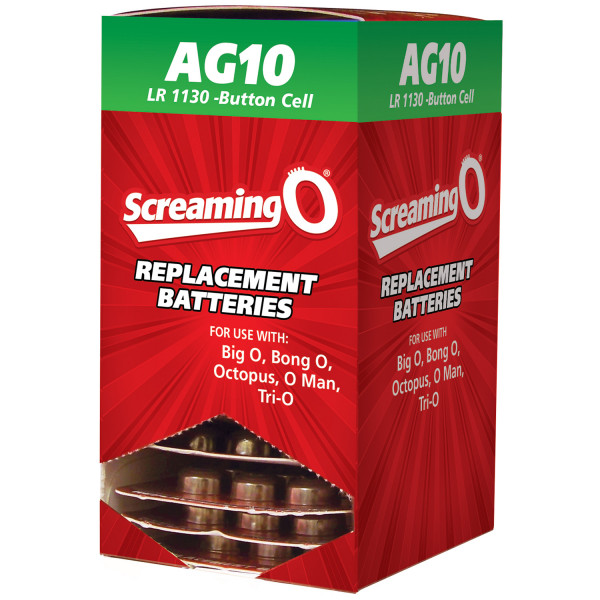 Screaming O Batteries AG10 LR1130 6 pcs