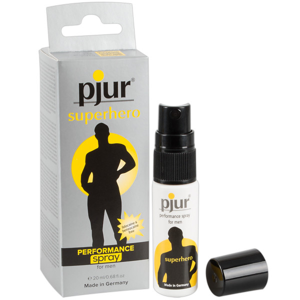 Pjur Superhero Performance Spray for Men 20 ml  1