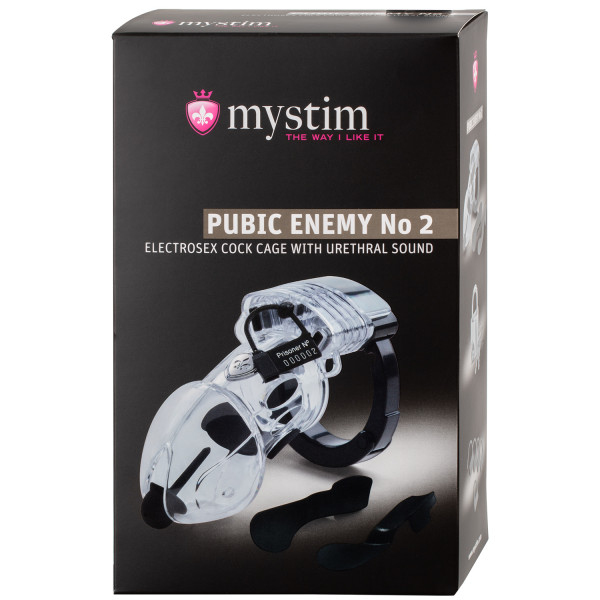 Mystim Pubic Enemy No. 2 Electro Chastity Device  100