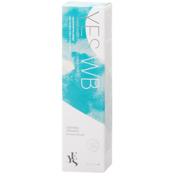 YES Water Based Personal Lubricant 150 ml  10