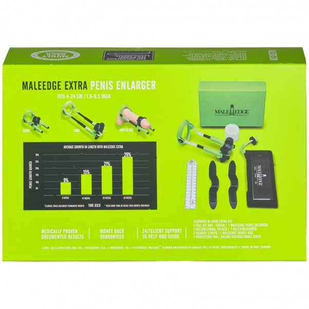 Male Edge Extra Penis Enlarger product packaging image 90