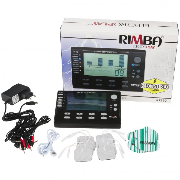 Rimba Digital Electrosex Box 4 Channels product packaging image 1