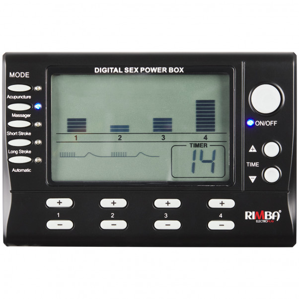 Rimba Digital Electrosex Box 4 Channels product packaging image 2