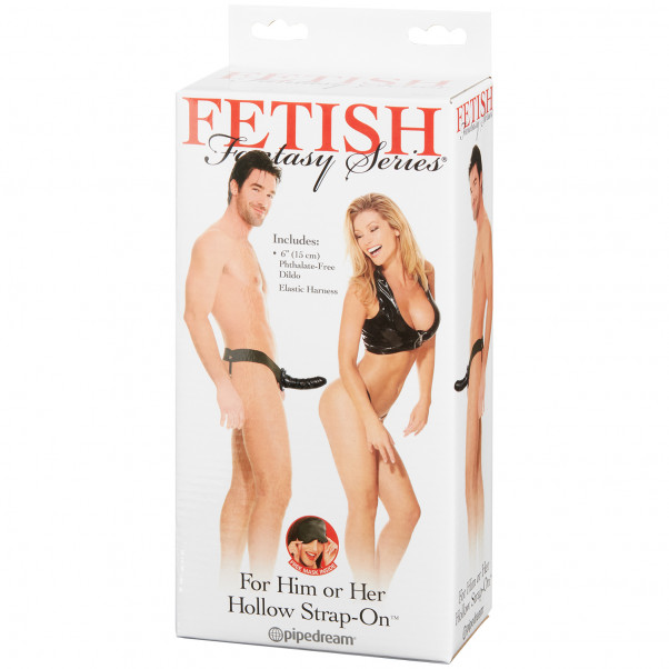 Fetish Fantasy Hollow Strap-on for Him or Her product packaging image 90
