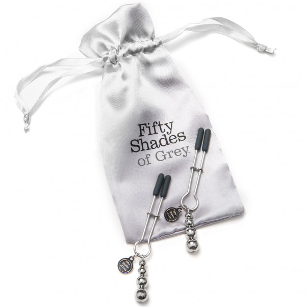 Fifty Shades of Grey The Pinch Adjustable Nipple Clamps  2