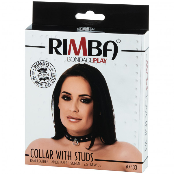Rimba Adjustable Leather Collar  product packaging image 90