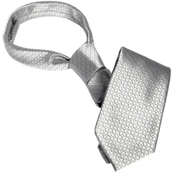 Fifty Shades of Grey Silver Tie  1
