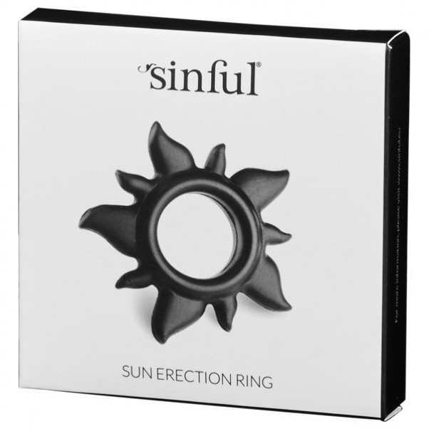Sinful Sun Cock Ring i Silicone