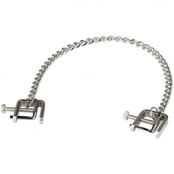 Adjustable C Clamps with Metal Chain product held in hand 2