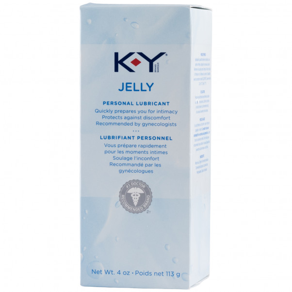 KY Jelly Water Based Lubricant 113 ml  3