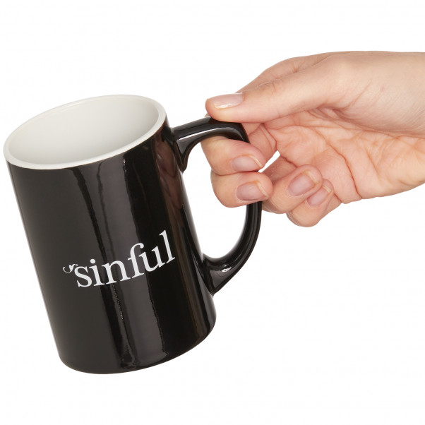 Sinful Mug product held in hand 50