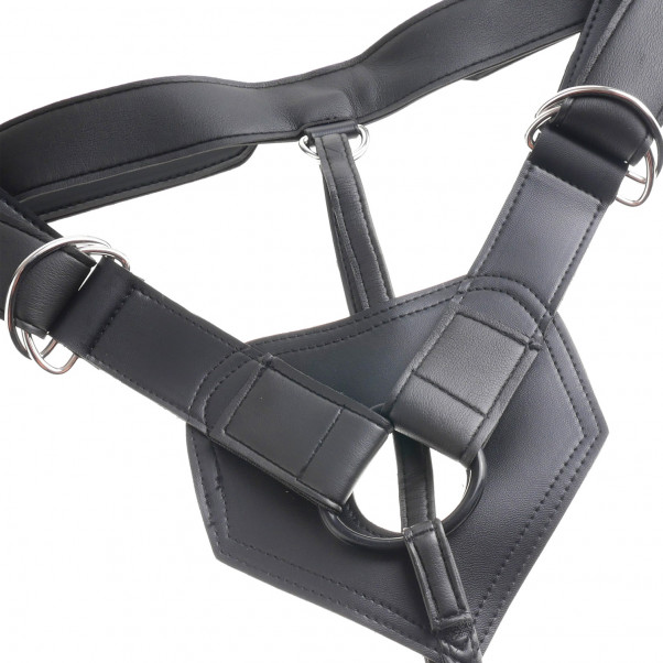 King Cock Harness with Dildo 18 cm