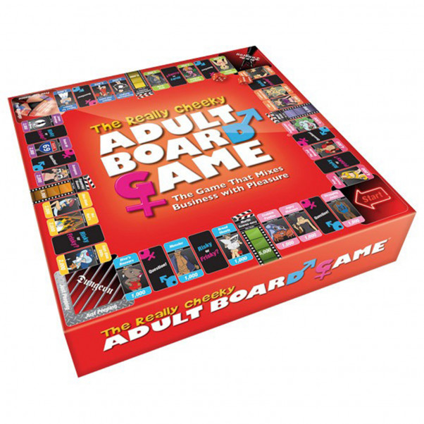 The Really Cheeky Adult Board Game  2