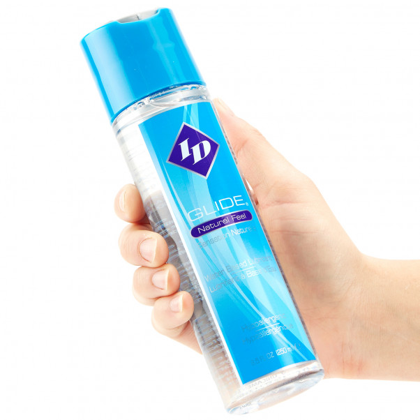 ID Glide Natural Feel Water Based Lubricant 250 ml  2
