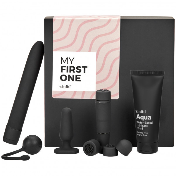 Sinful My First One Beginner Sex Toy Box with A–Z Guide product image 1